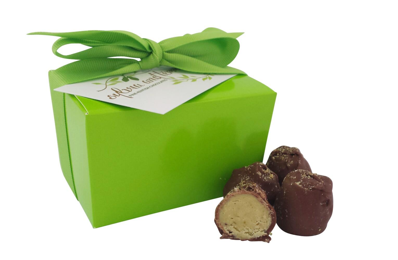 Truffles pistachio