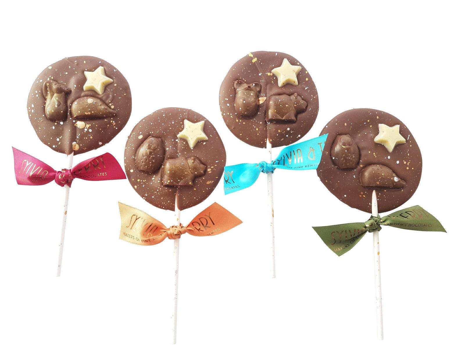 Forest friends lollipop