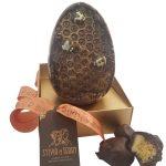 dark honeycomb egg