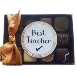 Handmade choc teacher gift