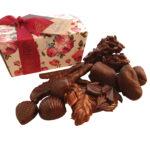 Dark chocolate ballontin collection